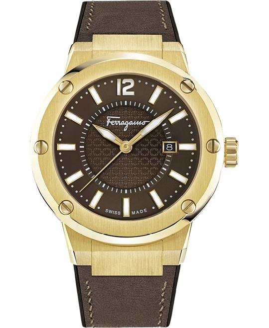 Salvatore Ferragamo FIF060016 F-80  Watch 44mm