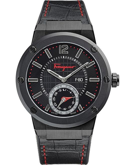 Salvatore Ferragamo FAZ020016 F-80 Swiss Watch 44mm