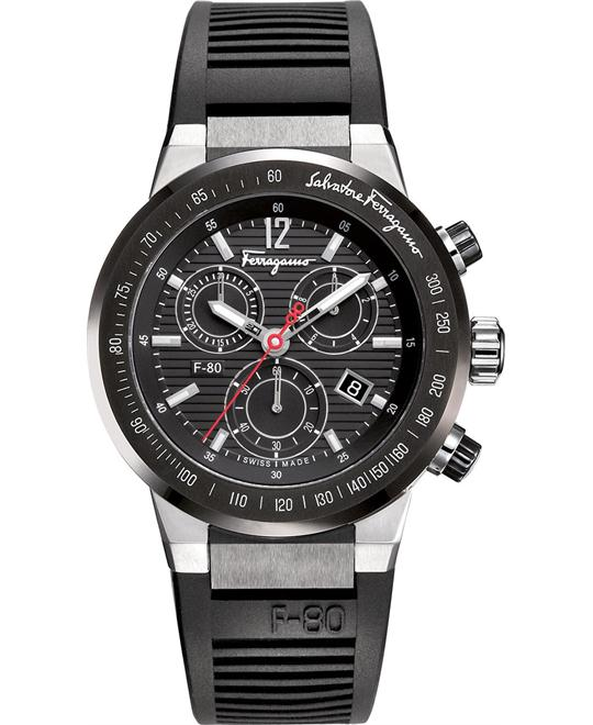 Salvatore Ferragamo F-80 Titanium Watch 44mm