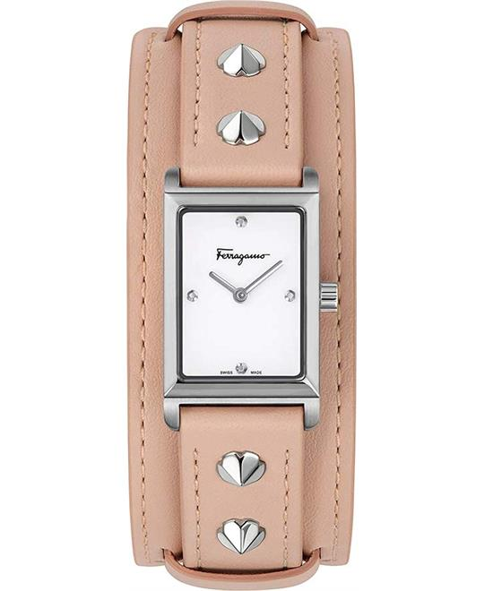 Salvatore Ferragamo Fiore Studs Watch 20x34mm