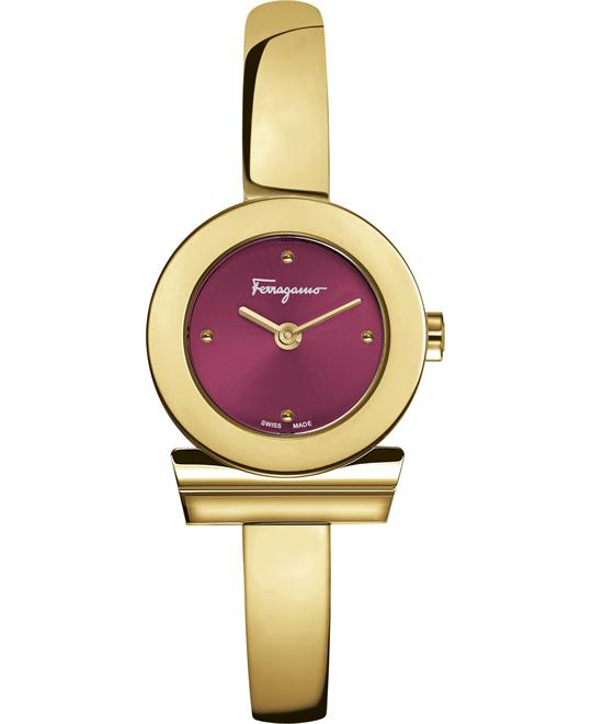Salvatore Ferragamo FQ5080016  Gancino Watch 22mm