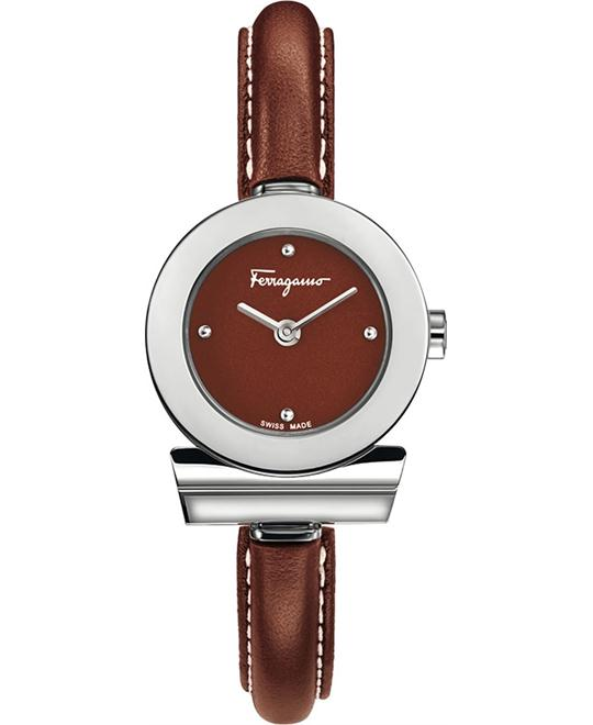 Salvatore Ferragamo FII040015 Gancino Bracelet Watch 25.5mm