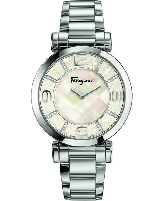 Salvatore Ferragamo FG3050014 Gancino Deco Diamond 39mm