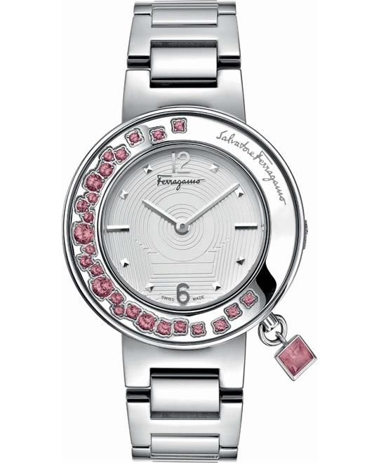 Salvatore Ferragamo Gancino Sparkling Women's Watch 36mm