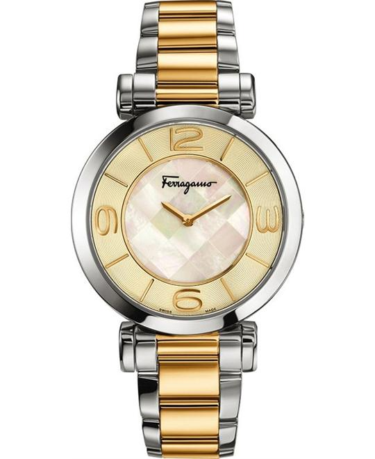 Salvatore Ferragamo FG3060014  Gancino Two-Tone 39mm