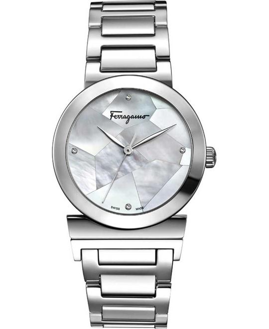 Salvatore Ferragamo FG2040013 Grande Maison Diamonds 33mm