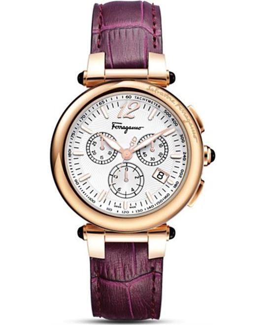 Salvatore Ferragamo F77LCQ5091 SB42 Idillio Purple 42mm