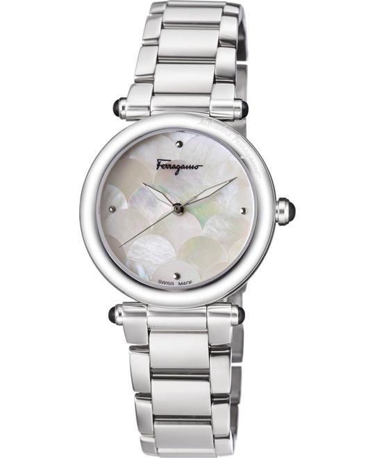 Salvatore Ferragamo FCH040016 IDILLIO Quartz Watch 34mm