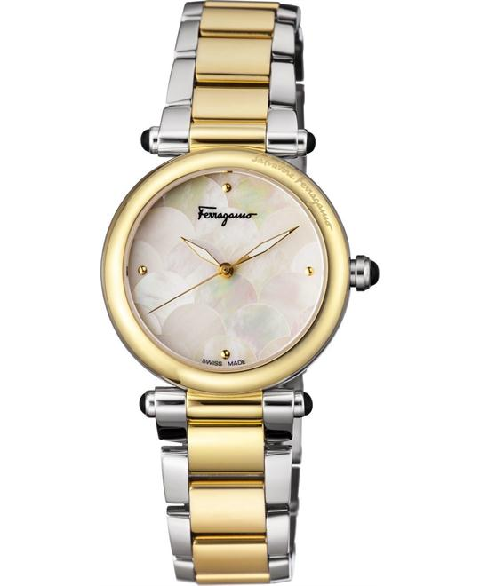 Salvatore Ferragamo FCH060016 IDILLIO Quartz Watch 34mm