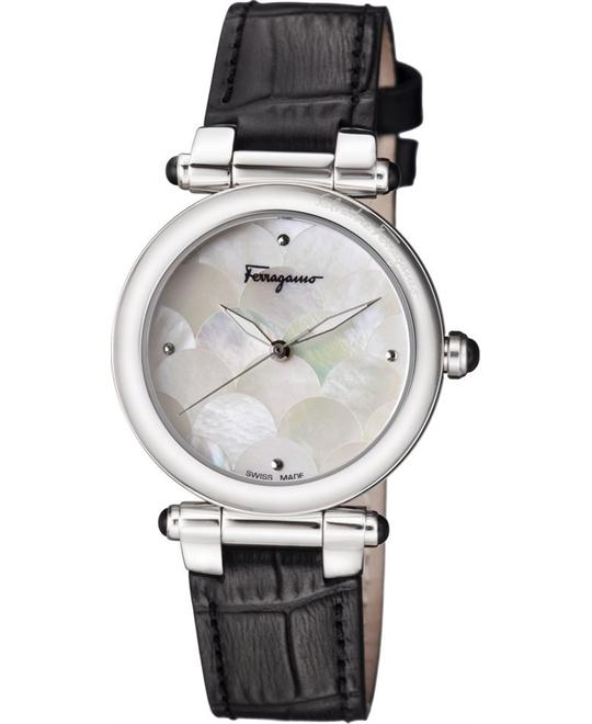 Salvatore Ferragamo FCH010016 IDILLIO Quartz Watch 34mm