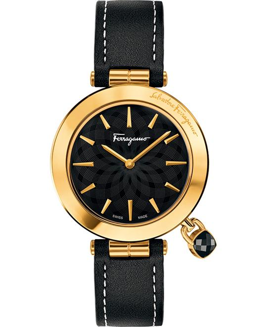 Salvatore Ferragamo FIC030015  Intreccio Black Watch 36mm