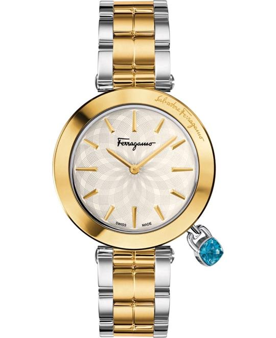 Salvatore Ferragamo FIC040015 Intreccio Two Tone 36mm