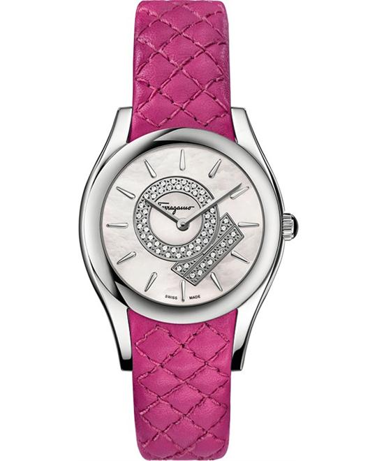 Salvatore Ferragamo FG4010014 LIRICA Diamond Pink 33mm