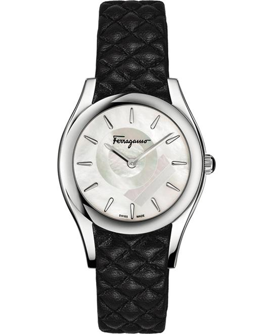 Salvatore Ferragamo FG4060014 LIRICA Quartz Black 32mm