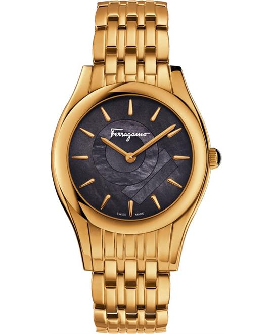 Salvatore Ferragamo FG4050014  LIRICA Quartz Gold 33mm