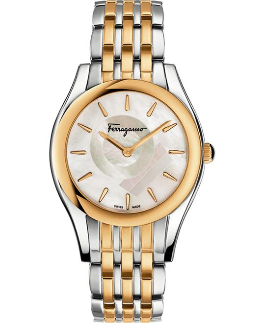 Salvatore Ferragamo FG4080015 Lirica Two-Tone 33mm