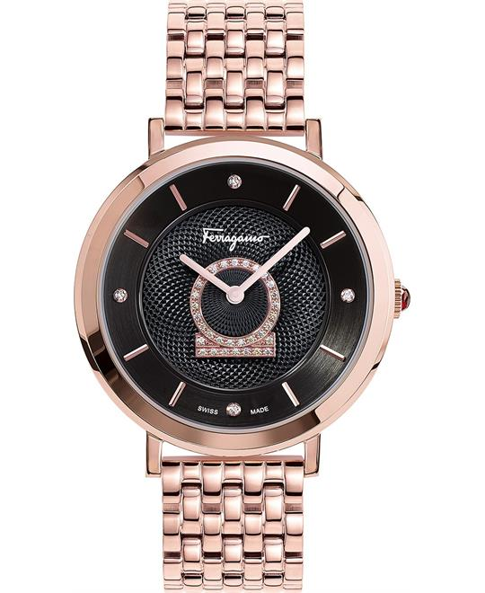 Salvatore Ferragamo Minuetto Diamond Watch 36mm