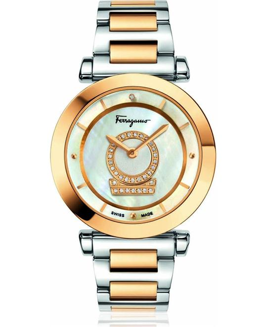 Salvatore Ferragamo FQ4090013 Minuetto Diamond 37mm