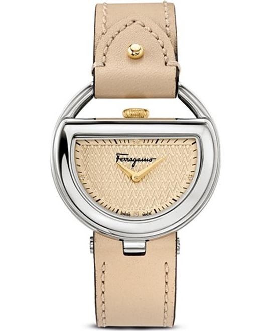 Salvatore Ferragamo FG5030014 Buckle Diamond 37mm