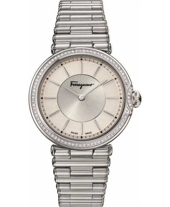Salvatore Ferragamo FIN050015  Style Diamond Watch 36mm