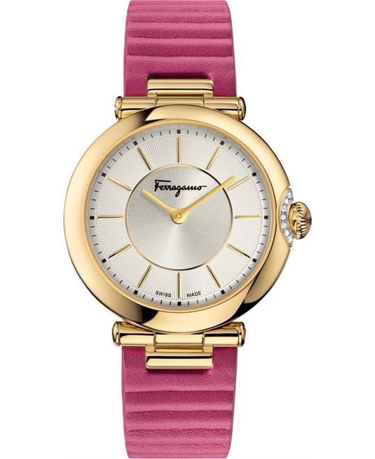 Salvatore Ferragamo FIN030015 Style Diamond Pink 36mm