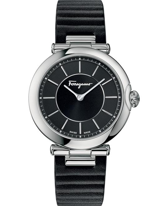 Salvatore Ferragamo FIN010015 Style Quartz Black 36mm