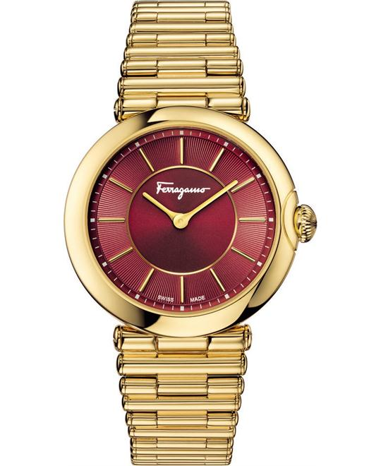 Salvatore FERRAGAMO FIN060015 Style Red Sunray 36mm
