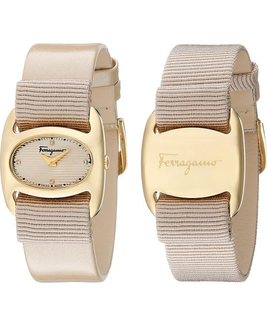 Salvatore Ferragamo FIE030015 Varina Beige Watch 26mm