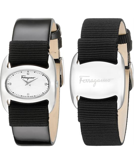 Salvatore Ferragamo Varina Black Watch 26mm