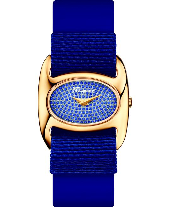Salvatore Ferragamo Varina  Blue Watch 26mm