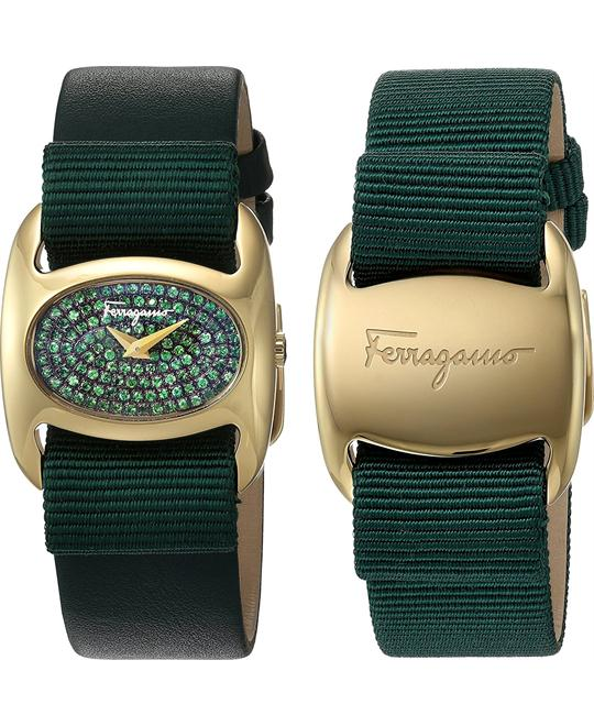 Salvatore Ferragamo FIE090015 Varina Green Watch 26mm