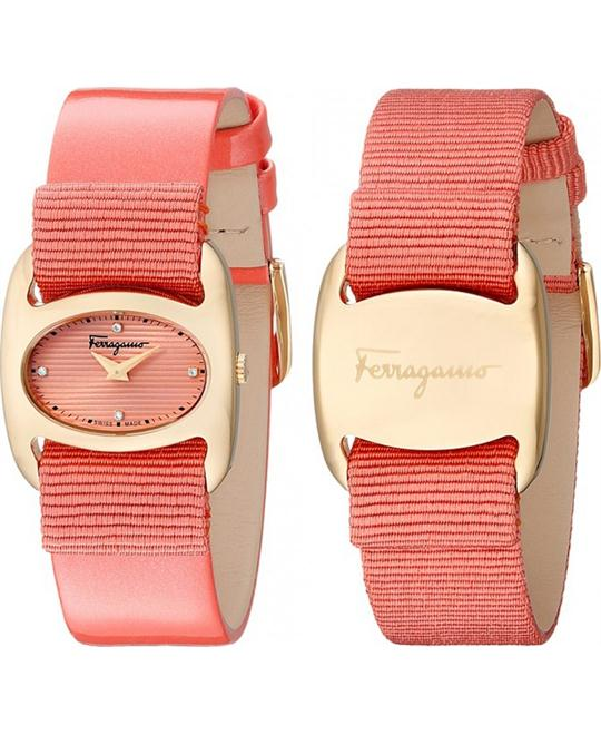 Salvatore Ferragamo FIE020015 Varina Orange 26mm