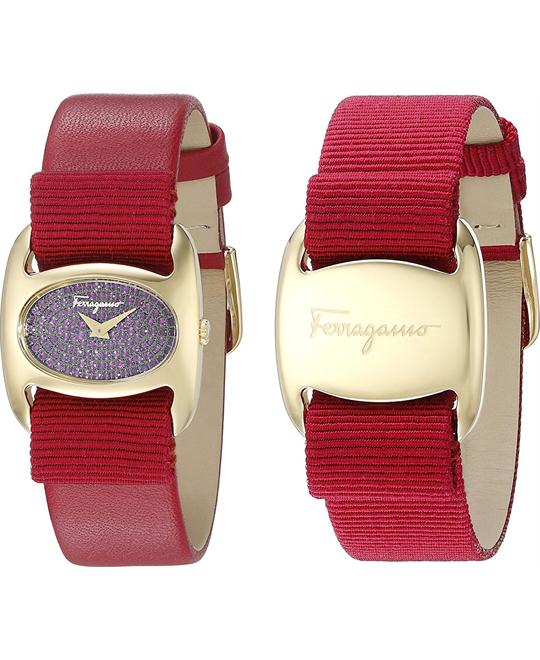 Salvatore Ferragamo FIE080015 Varina Pink Watch 26mm