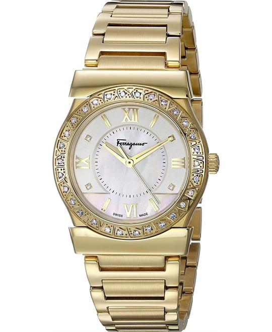 Salvatore Ferragamo FI1910015 VEGA Diamond Watch 32mm
