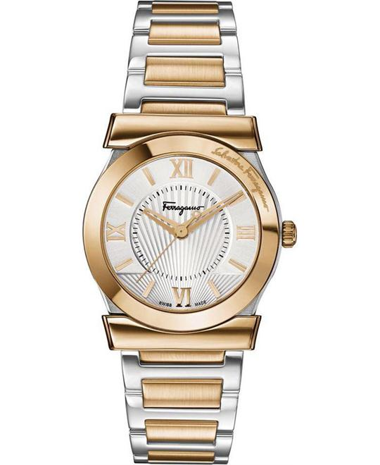 Salvatore Ferragamo FI1010013 Vega Gold Ion-Plated 32mm