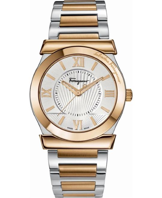 Salvatore Ferragamo FI0010013  Vega Gold Ion-Plated 38mm