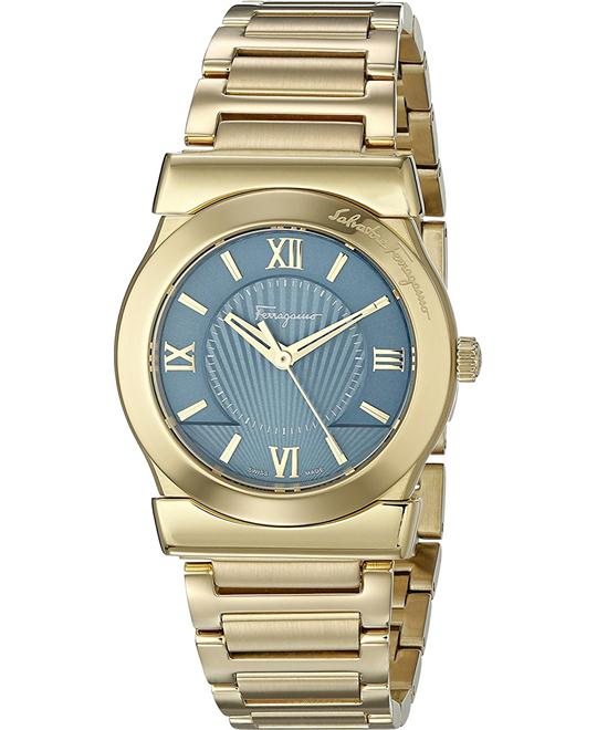 Salvatore Ferragamo FI1040015  Vega Gold-Plated 32mm