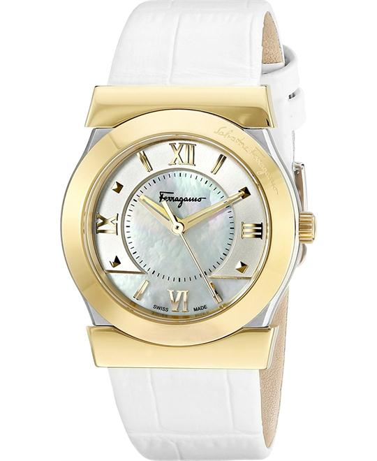Salvatore Ferragamo FI1960015  VEGA Gold-Tone Watch 32mm