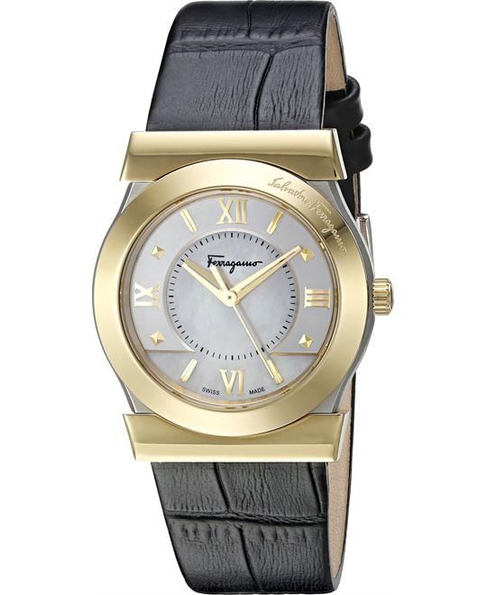 Salvatore Ferragamo FI1970015 VEGA Quartz Black 32mm