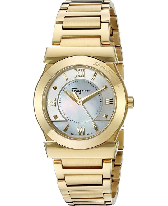 Salvatore Ferragamo VEGA Yellow Women's Watch 31mm