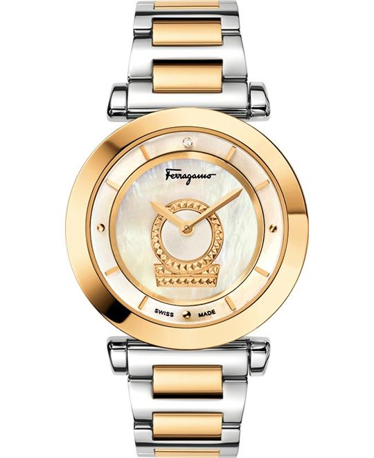 Salvatore Ferragamo Women's Minuetto Analog Display  Watch 36mm