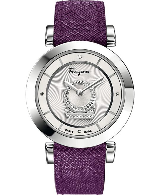 Salvatore Ferragamo FQ4260015 Minuetto Analog Watch 36mm