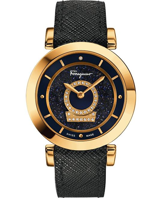 Salvatore Ferragamo FQ4190014 Minuetto Aventurine Diamond 36mm