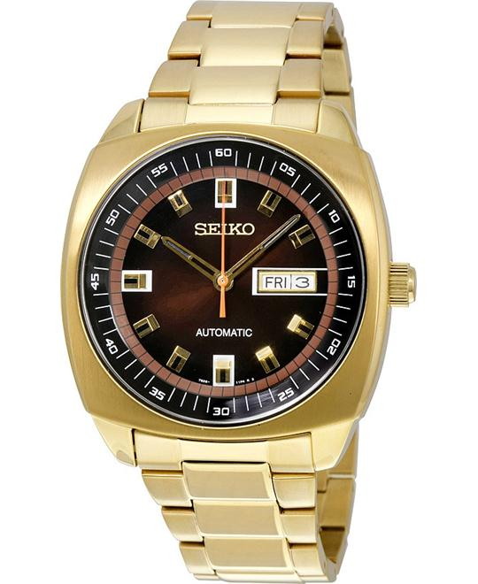 SEIKO Recraft Gold-Tone Automatic Men's Watch 44mm