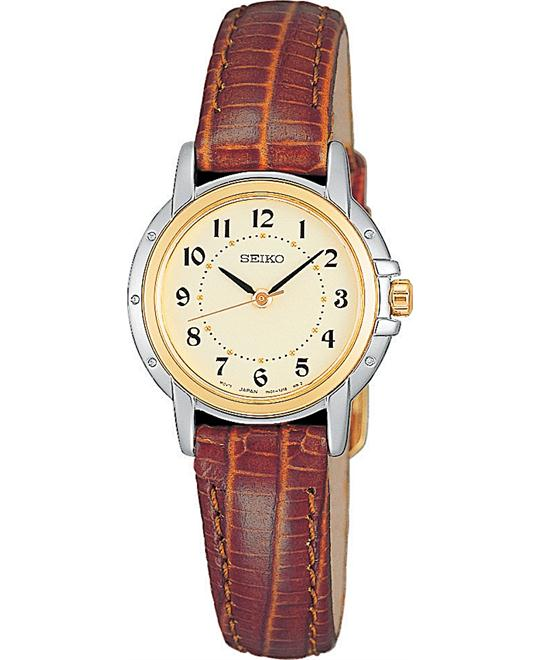 Seiko Women's Leather Strap 24mm