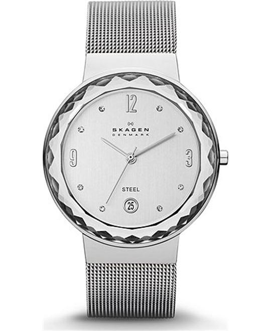 SKAGEN LEONORA WOMEN'S THREE-HAND WATCH, 34.5mm