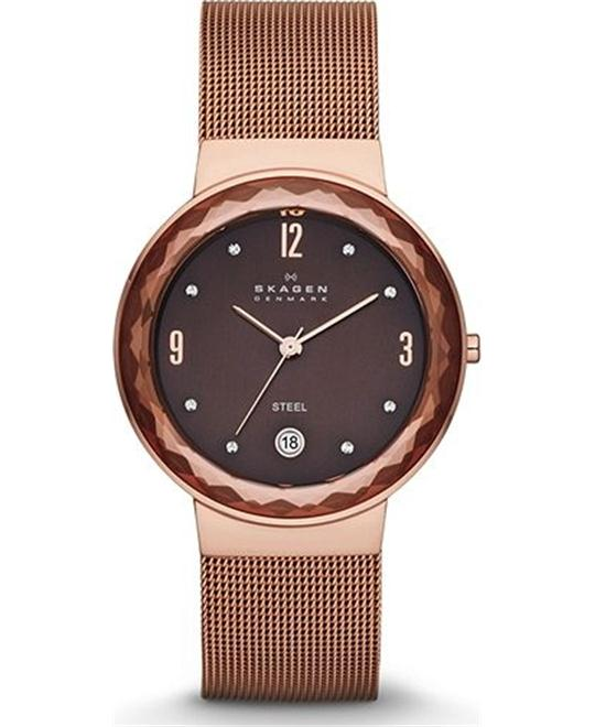 SKAGEN LEONORA WOMEN'S THREE-HAND WATCH