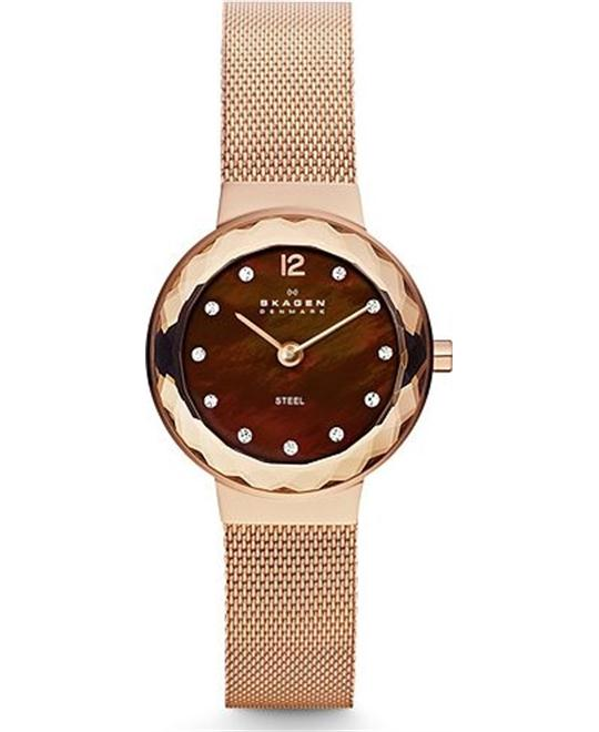 SKAGEN LEONORA WOMEN'S TWO-HAND WATCH