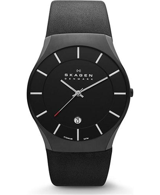 SKAGEN MEN'S WATCH - BLACK