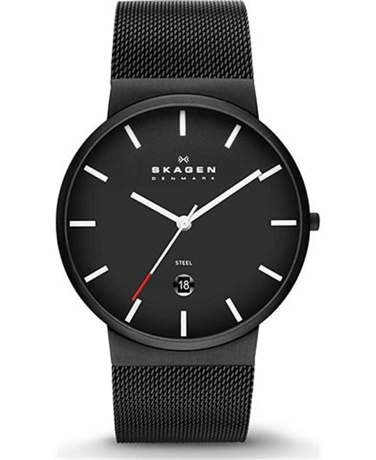 SKAGEN MEN THREE-HAND WATCH